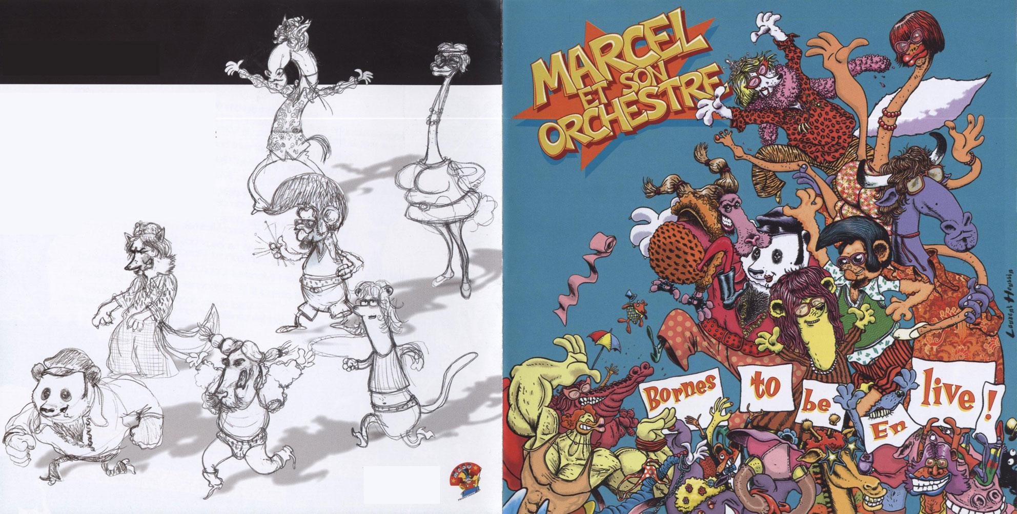 Marcel et son orchestre - Bio Bornes to be en live