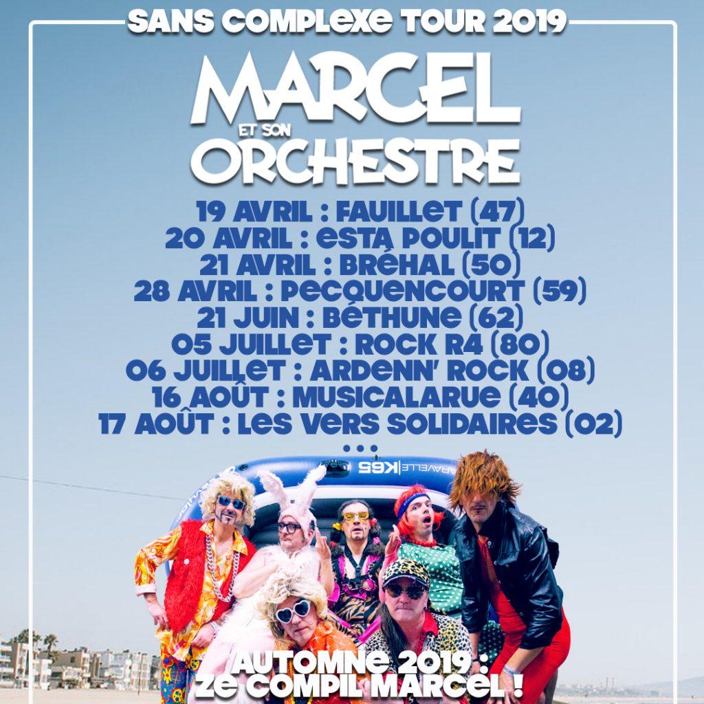 Sans Complexe Tour 2019